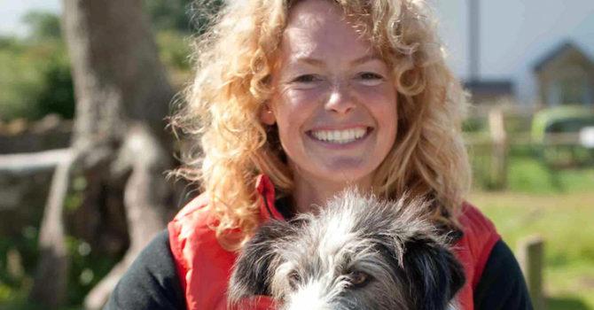 Kate Humble At Vallum Farm