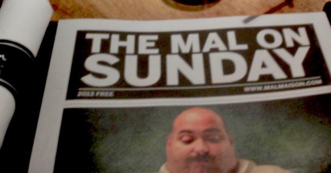 Malmaison Sunday Brunch Menu