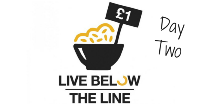 Live Below The Line Challenge: Day 2