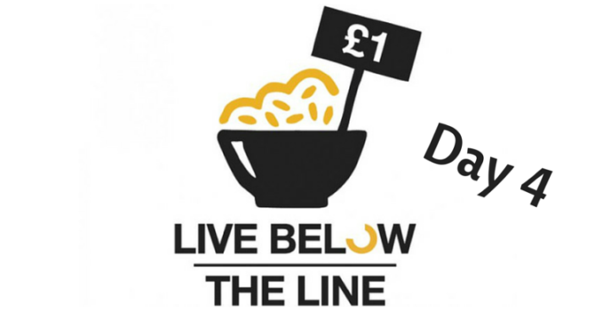 Live Below The Line Challenge: Day 4