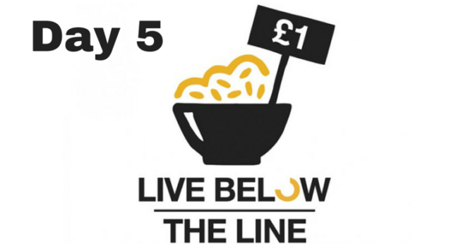 Live Below The Line Challenge: Day 5