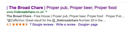 proper beer proper food proper pub