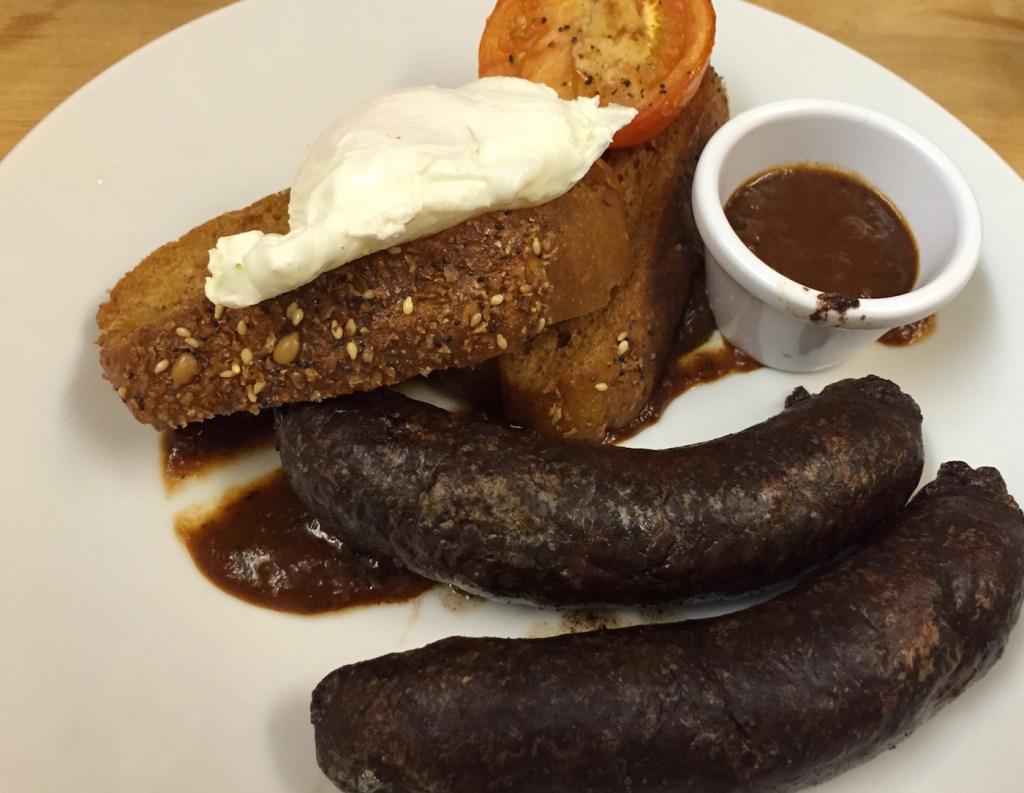 sausage emporium black pudding breakfast