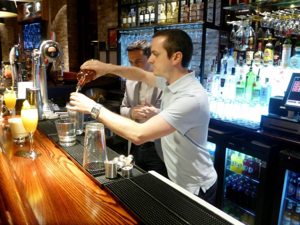 me cocktail making at coast2coast