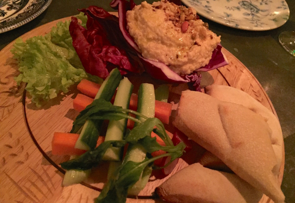 the botanist hummus