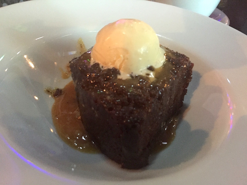 tyneside bar cafe sticky toffee pudding