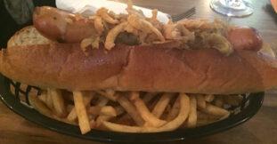 Tyneside Bar Cafe Hot Dog