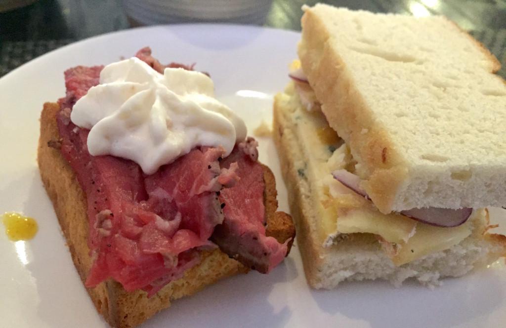 bonbar afternoon tea sandwiches
