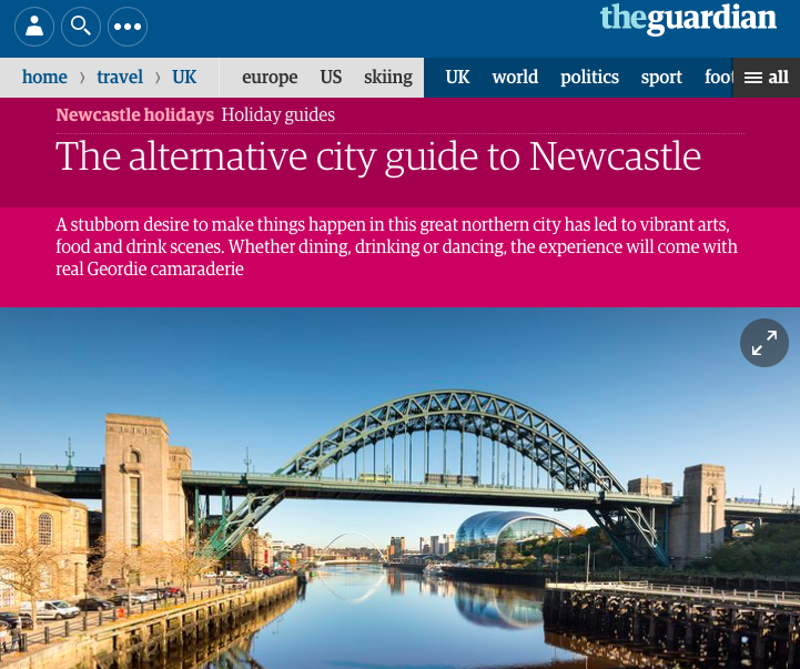 guardian newcastle city guide