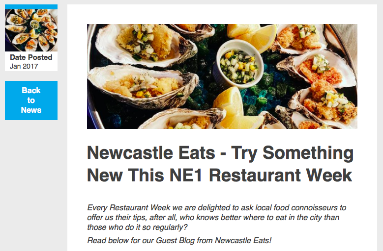 ne1 restaurant week newcastle eats
