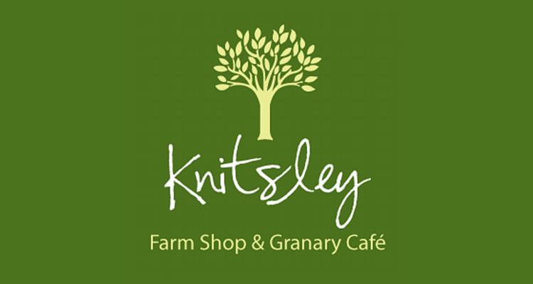 knitsley farm shop logo
