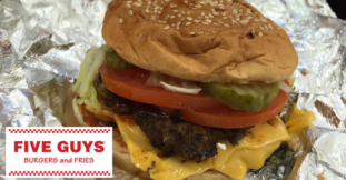 Five Guys, Newcastle