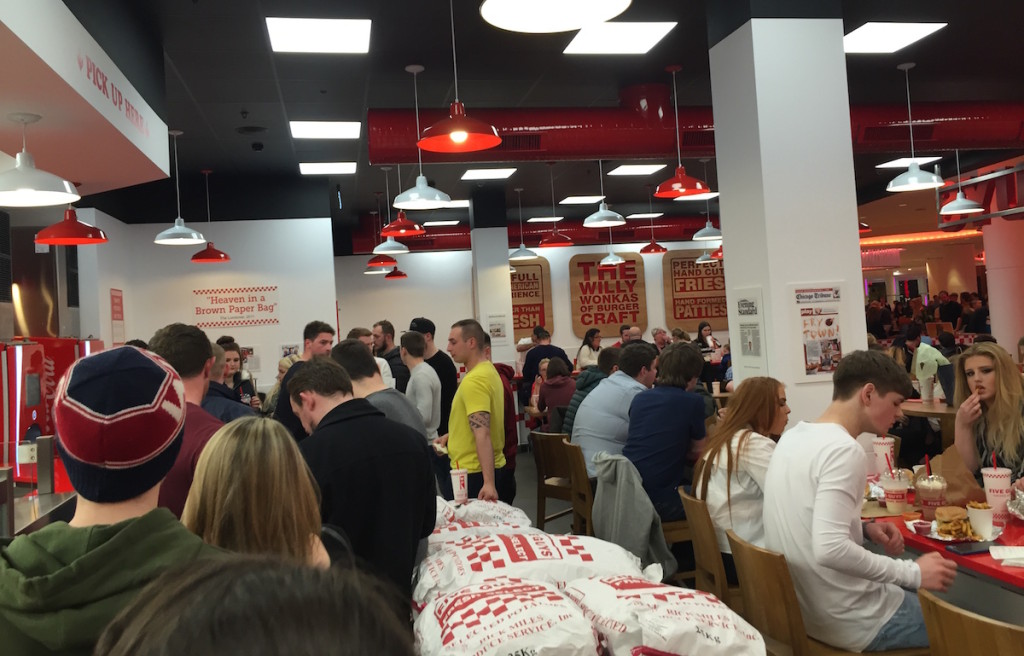 five guys metrocentre