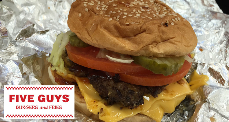 Five Guys Metrocentre Review