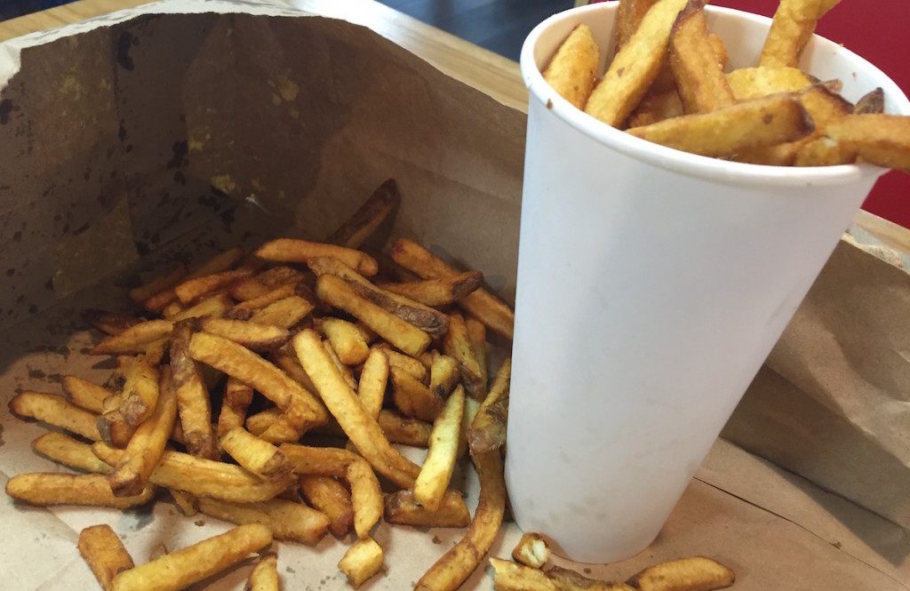 five guys newcastle fries