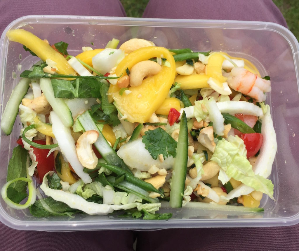 ko sai prawn mango salad takeaway