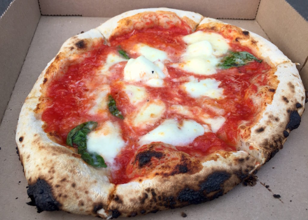 log fire pizza co margherita dop