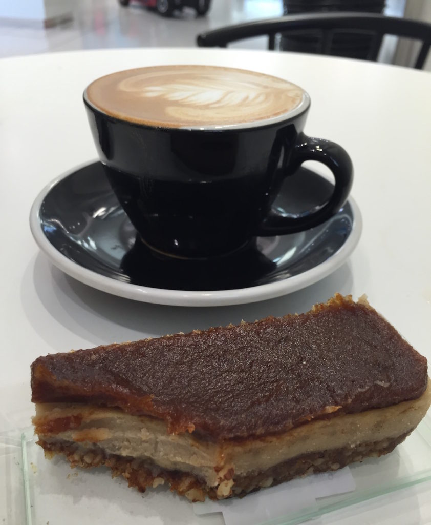 ouseburn coffee and naked deli cheesecake