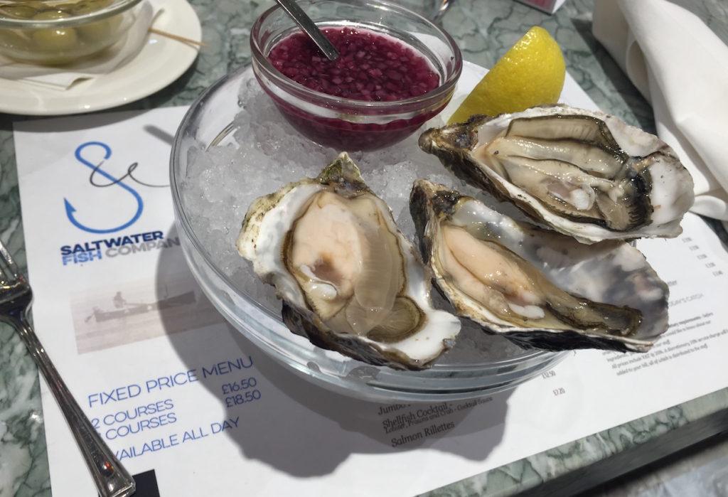 saltwater fenwick oysters