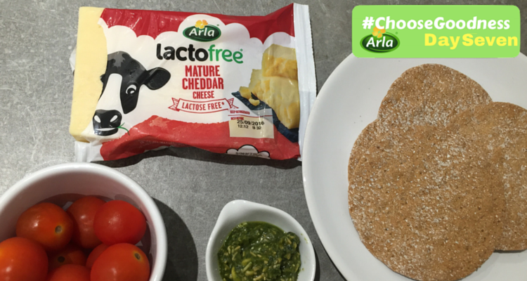 Arla Choose Goodness Lactofree Cheddar Crispbreads