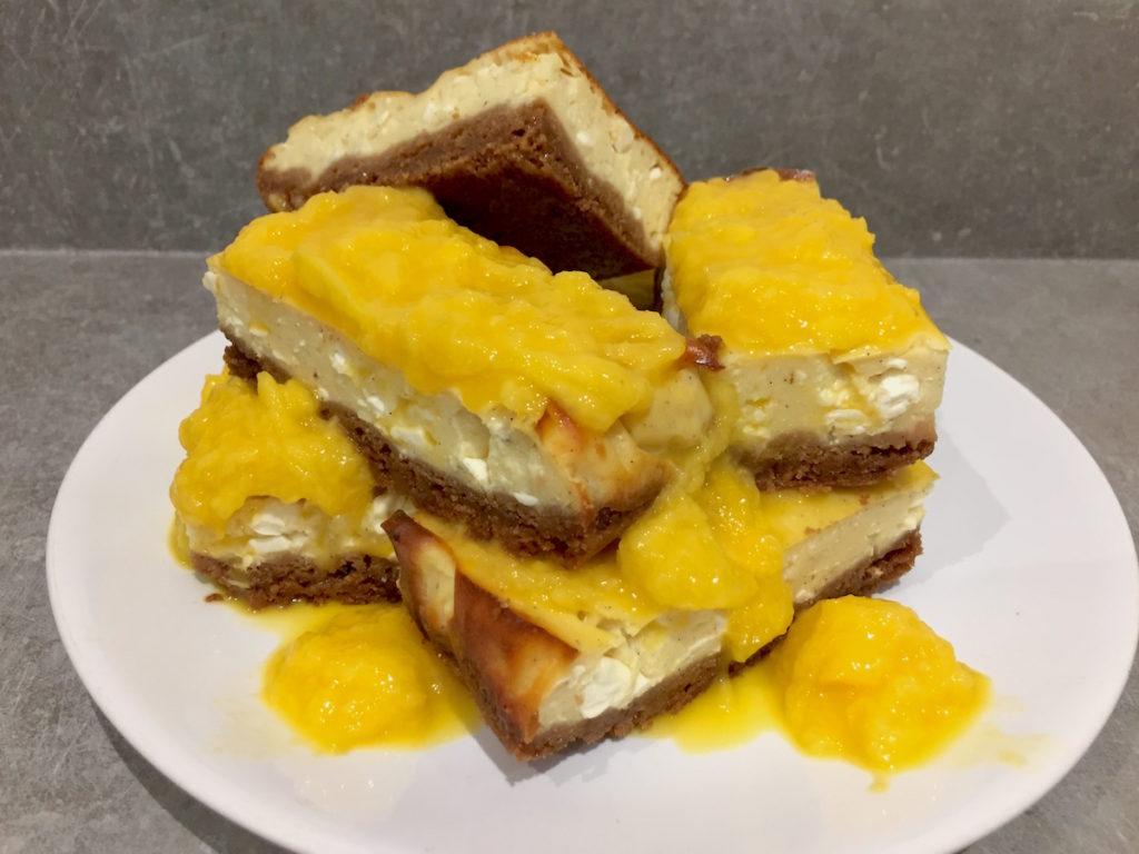 arla protein cheesecake bars