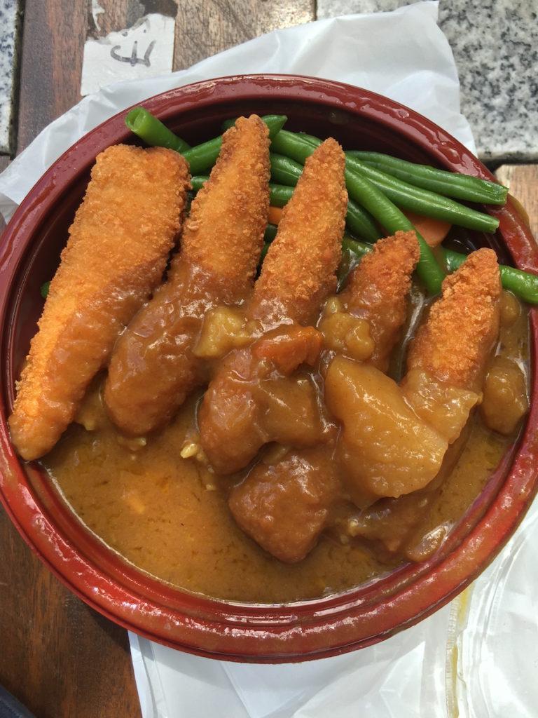 Shijo chicken katsu curry