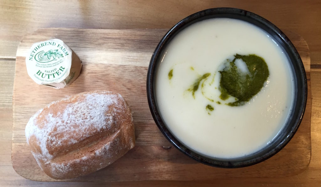 creamed artichoke soup pleased to meet you