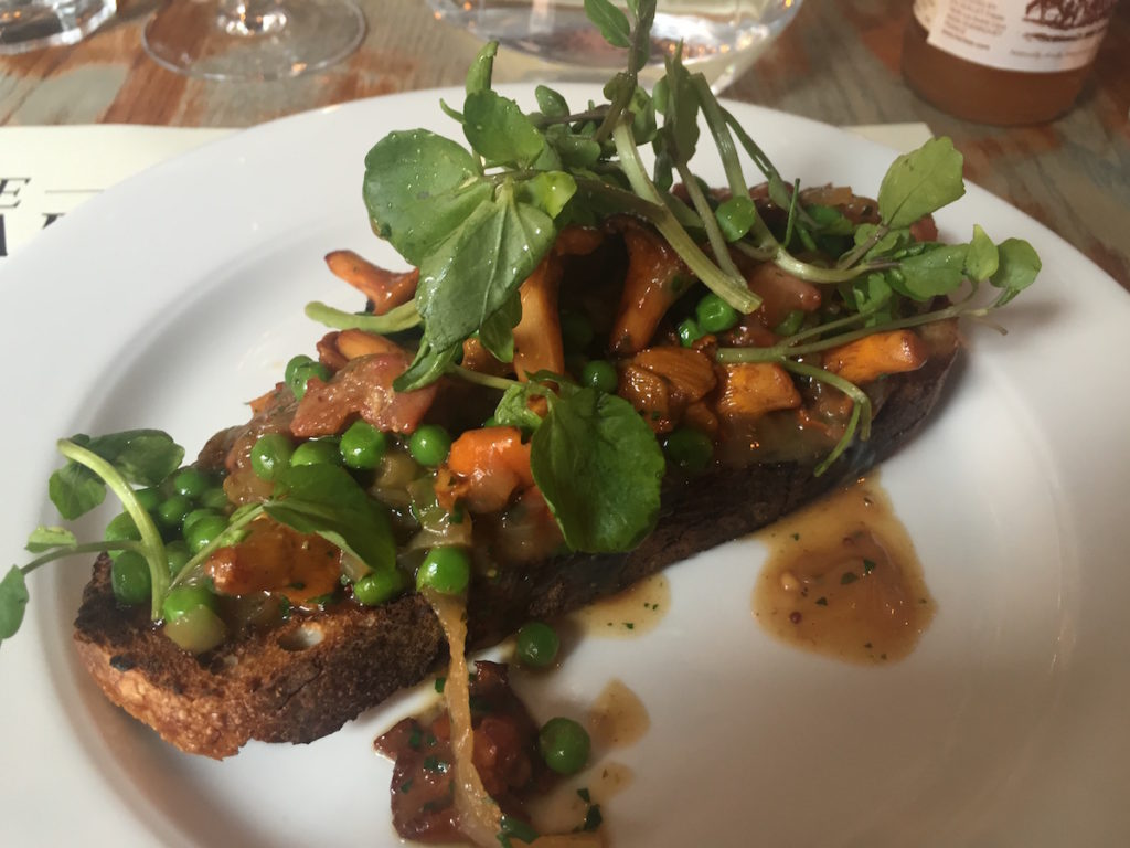 the broad chare girolles toast