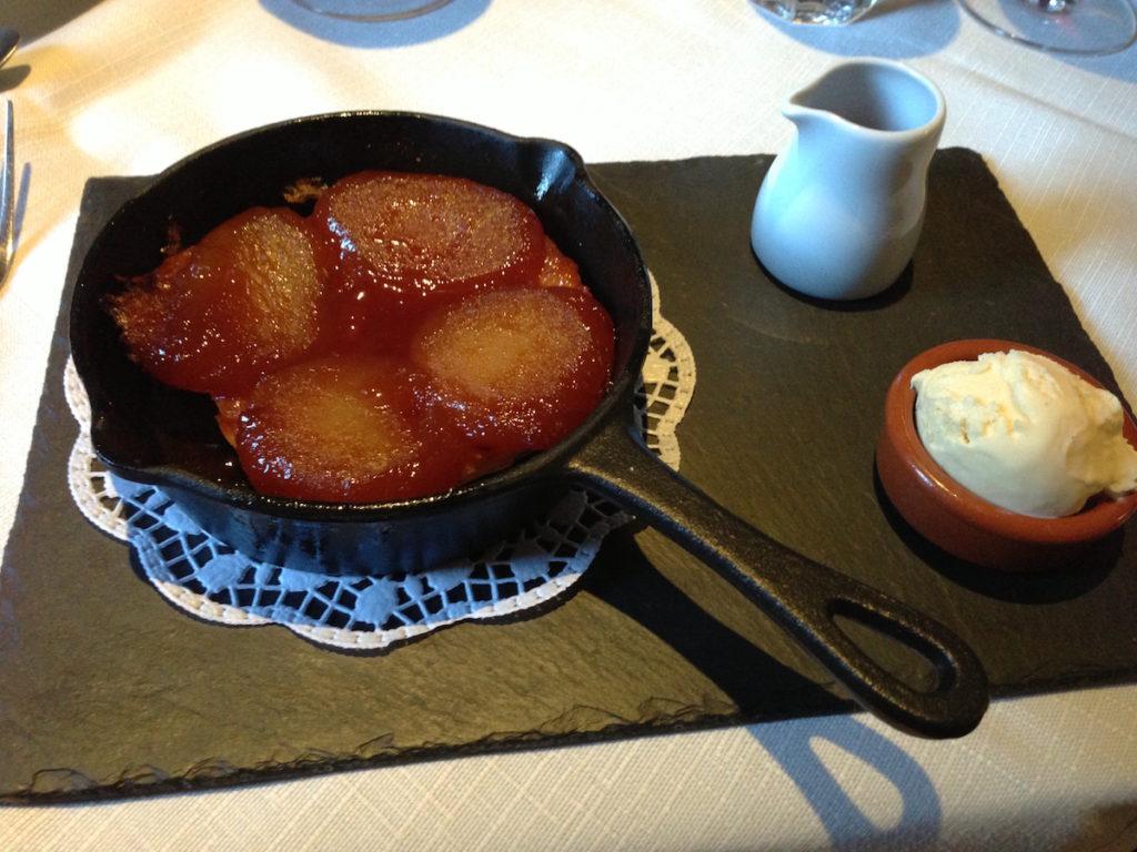 bouchon bistrot apple tarte tatin