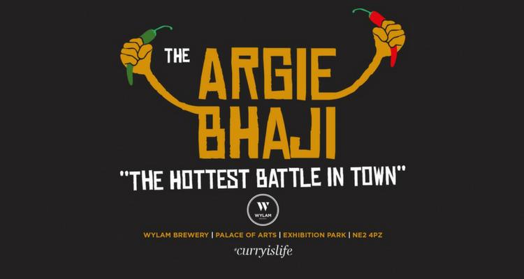 argie bhaji at wylam brewery
