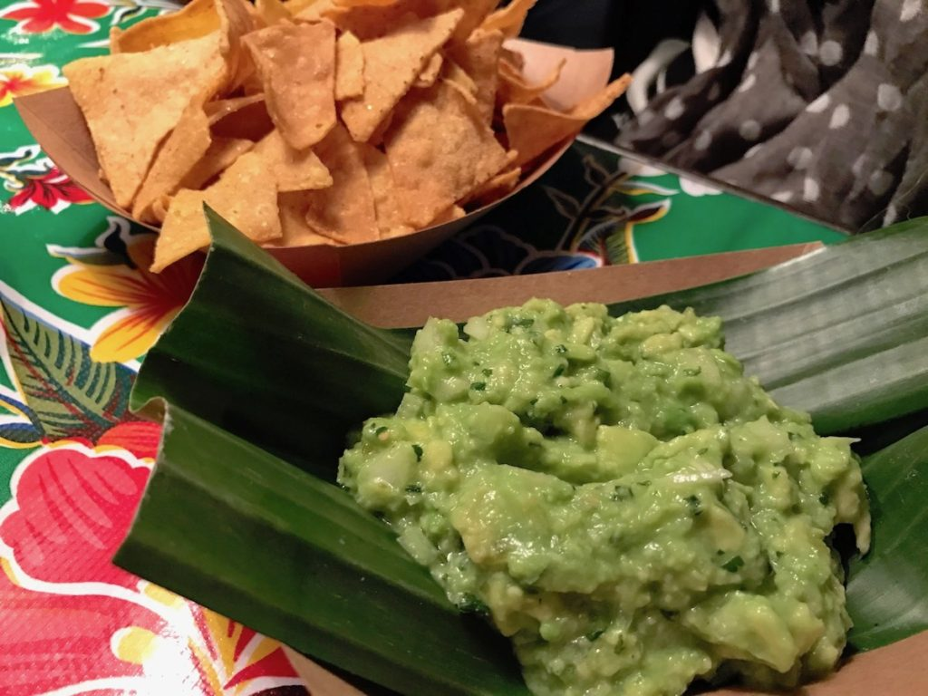 barrio comida guacamole and chips