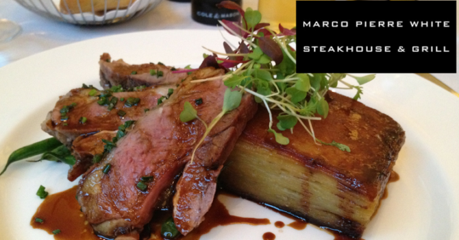 Marco Pierre White Steakhouse Newcastle