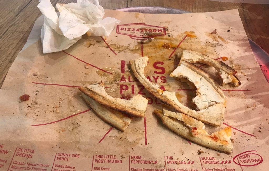 pizzastorm crusts