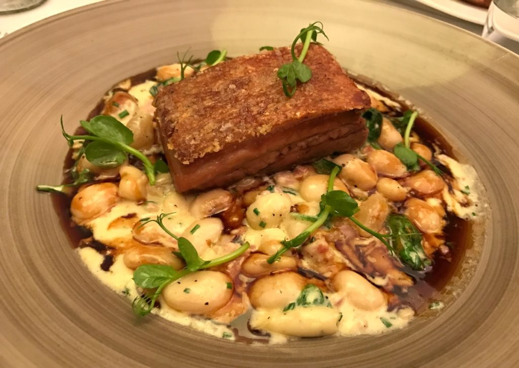 pork belly and beans marco pierre white steakhouse