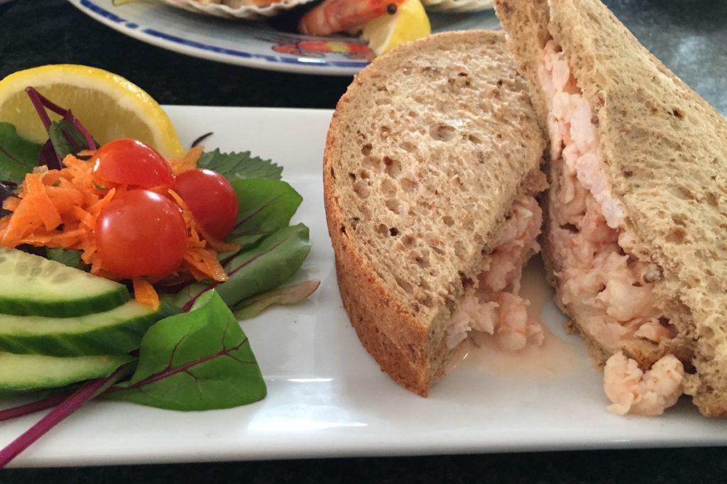 latimers prawn sandwich