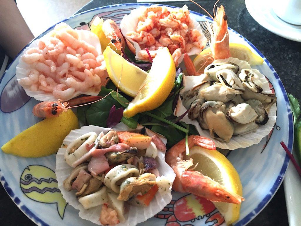 latimers seafood platter