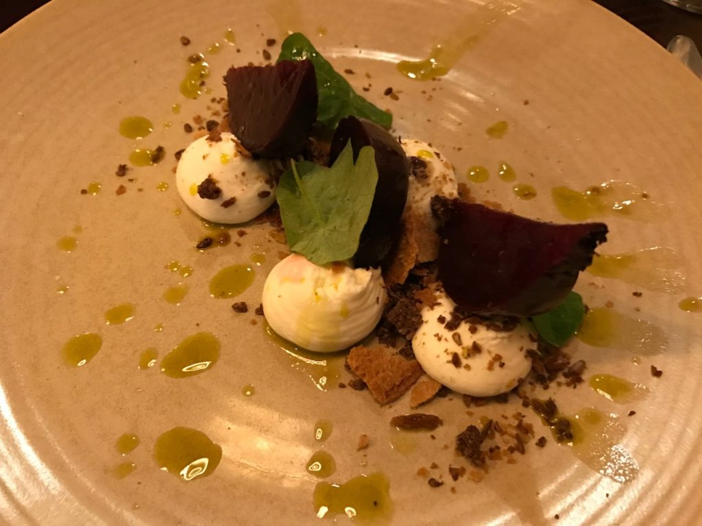 dobson and parnell newcastle goasts cheese mousse
