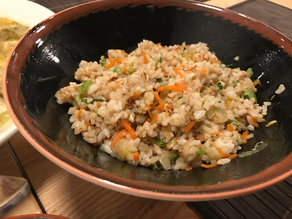 la yuan vegetable fried rice