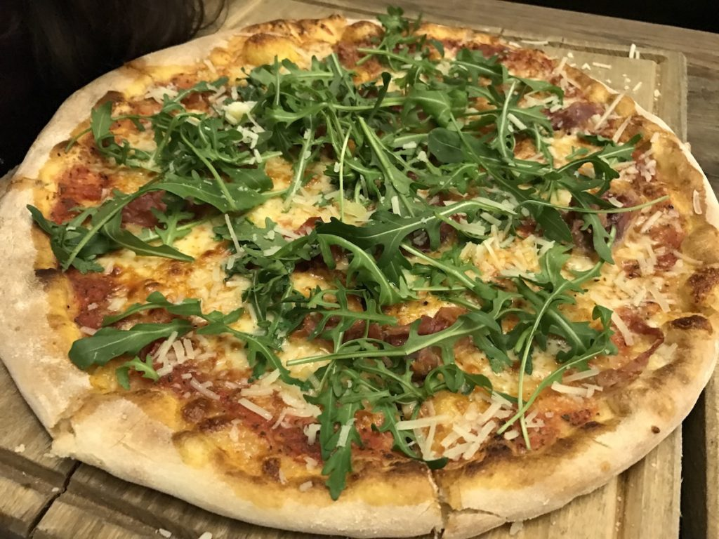 the herb garden newcastle pizza