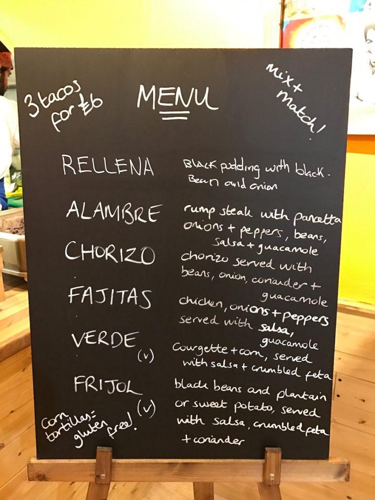 chuchos tacos menu