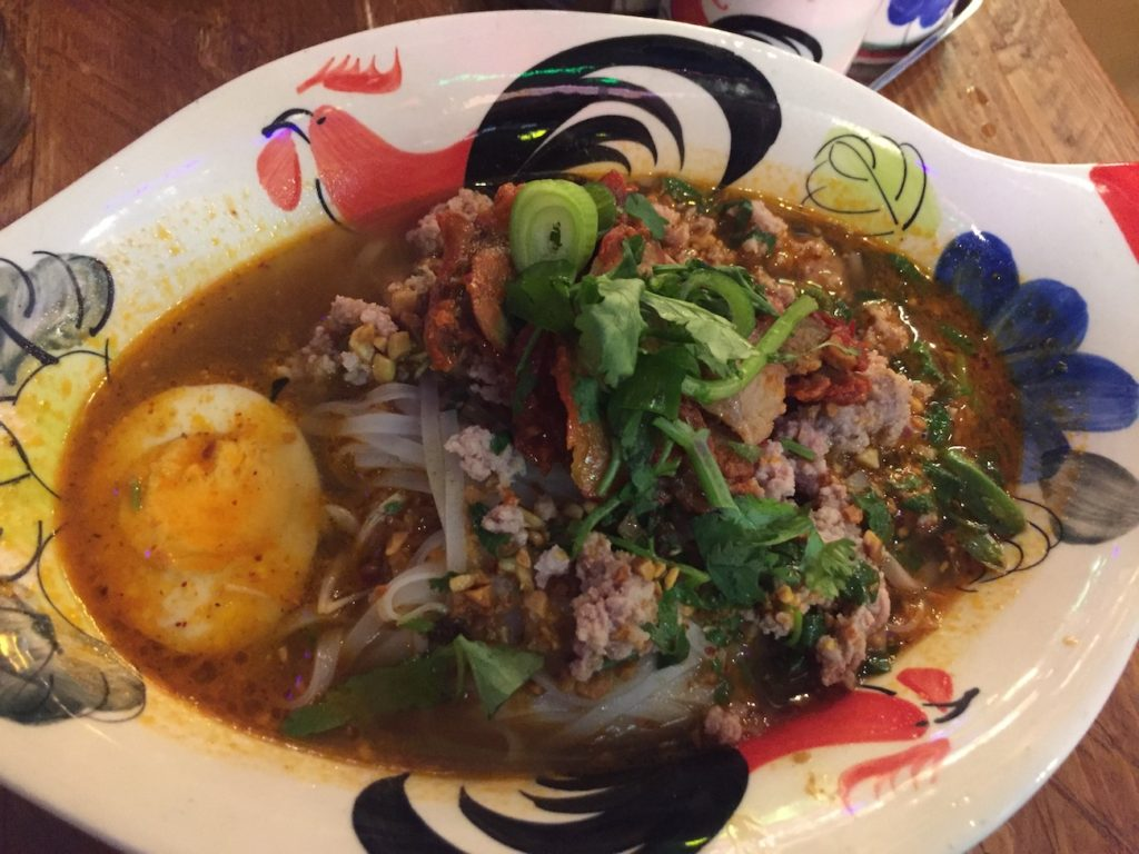 zaap thai newcastle pork noodles