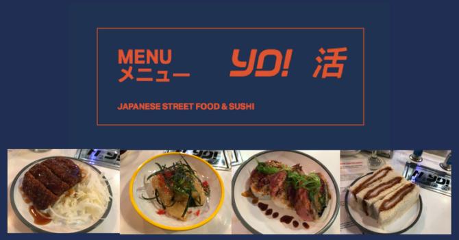 YO! Sushi 2017 Menu*