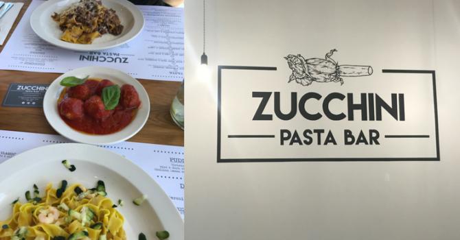 Zucchini Pasta Bar, Newcastle