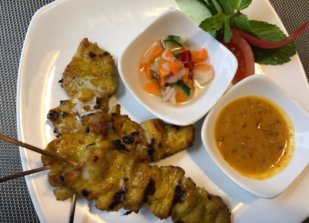 mantra satay chicken
