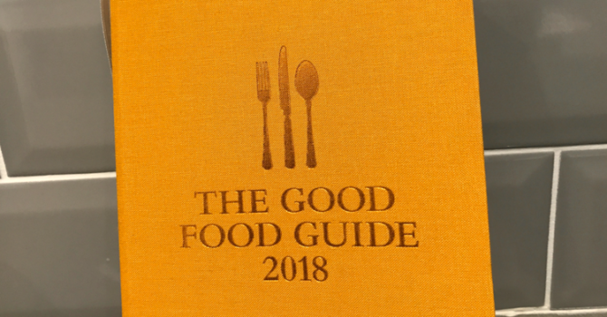 Good Food Guide 2018, Newcastle & The North East
