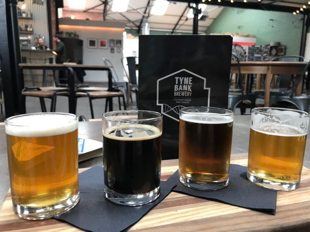 tyne bank brewery tasting plank
