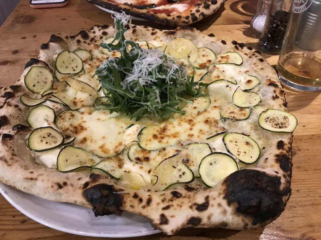 wood oven wylam courgette and lemon