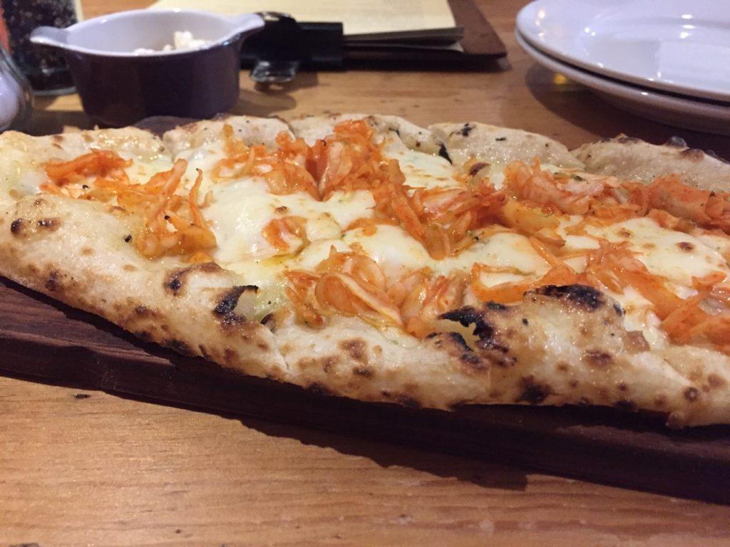 wood oven wylam kimchi bread