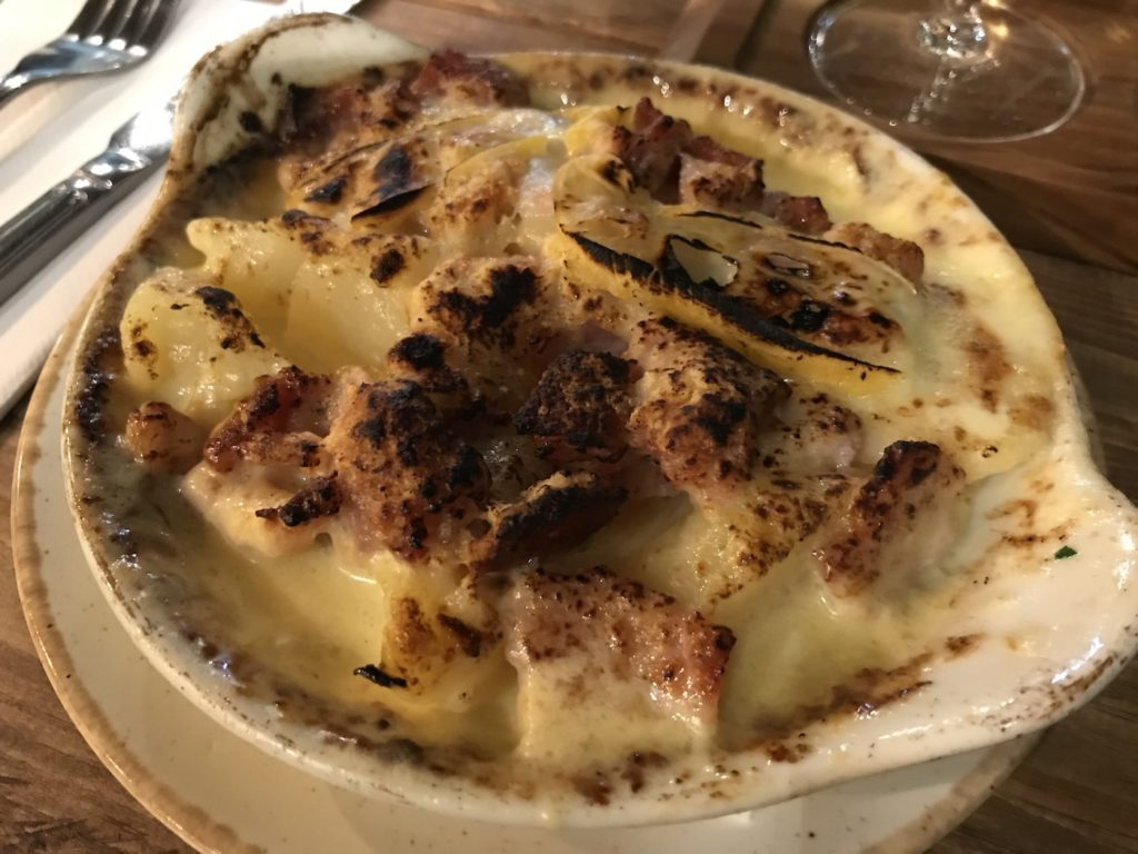 french quarter newcastle tartiflette