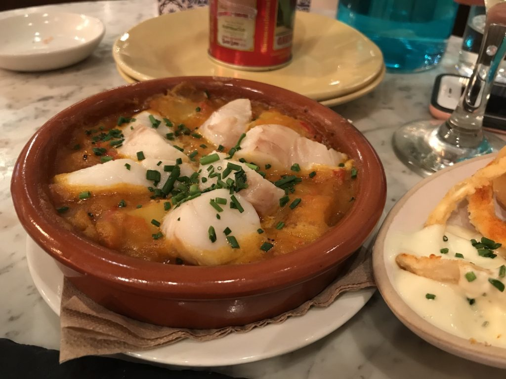 tapas revolution cod stew
